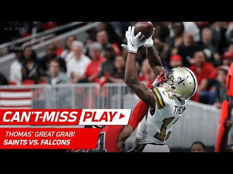 Video: Michael Thomas Goes Up & Over Defender for Unreal Grab! | Can't-Miss Play | NFL Wk 14 Highlights
