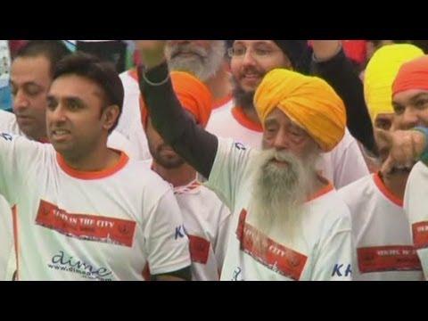 101-year-old marathon runner Fauja Singh retires