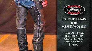 River Road Drifter Chaps for Men and Women