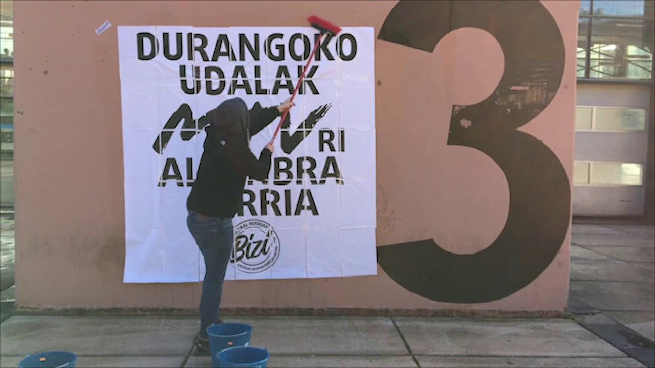 Ernai Durangaldea denuncia la «invasión» y el «dispendio económico» de la MTV Music Week
