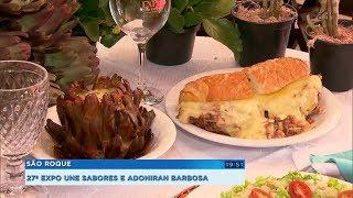 Expo São Roque reúne delícias com alcachofra e homenageia Adoniran Barbosa