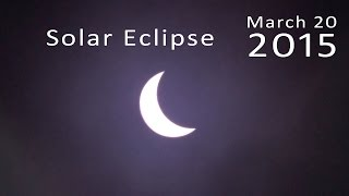 90% Partial Solar Eclipse 2015 - Time Lapse