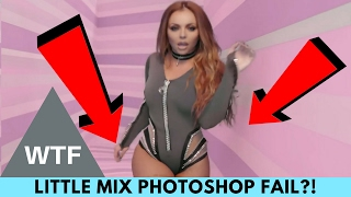 WTF! Little Mix Fans Pissed Over Jesy Nelson Photoshop Fail! | Hollywire