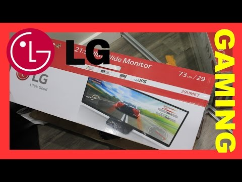 LG 29UM67 Ultra Widescreen IPS gaming monitor Full Review
