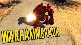 Invincible Dreadnoughts! CHAOS VS SPACE MARINES - (Warhammer 40k Mod)