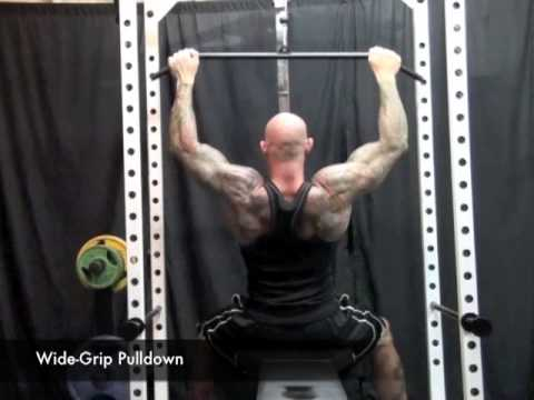 underhand - In this video, Dr. Jim Stoppani covers the differences between doing the wide-grip lat pulldown with an overhand grip and the reverse-grip pulldown. Follow a...