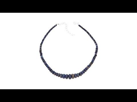 Jay King Graduated Malawi Sapphire Bead 18