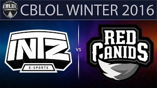 INTZ vs RED, game 1