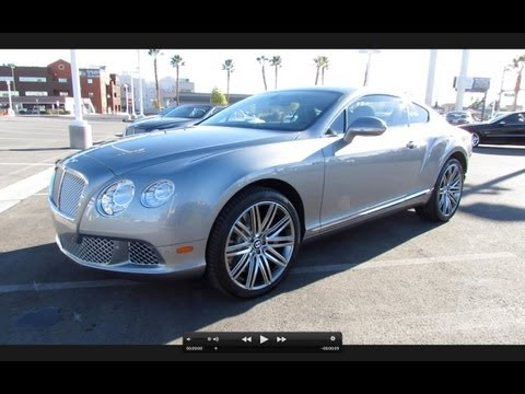 2013 Bentley Continental GT Speed Start Up, Exhaust, and In Depth Review
