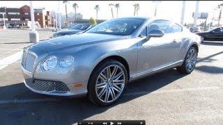 bentley 2013 Bentley Continental GT Speed Start Up, Exhaust, And In Depth Review