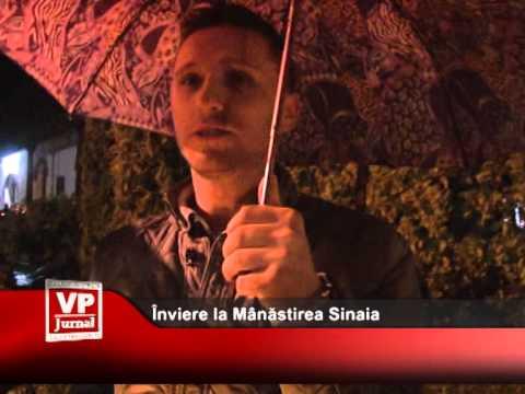 Înviere la Mânăstirea Sinaia