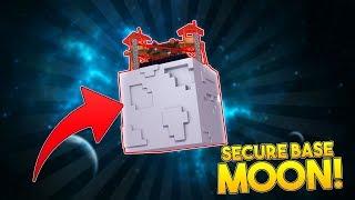 MOST SECURE MOON BASE   BOY (vs) GIRL TINY TURTLE VS LITTLE KELLY !! Minecraft