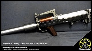 Hephaestus Dummy Suppressor for HTs-14 - Prototype Testing with Tracer Unit