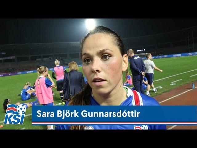 Sara Björk um 3-5-2: Held að það muni ganga vel