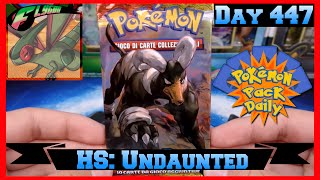 Pokemon Pack Daily Italian HS: Undaunted Booster Opening Day 447 - Featuring Flygon by ThePokeCapital