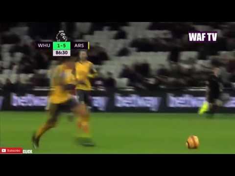 Alexis Sánchez Third Goal   West Ham United Vs Arsenal 1 5