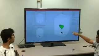 Gesture based CAD interface