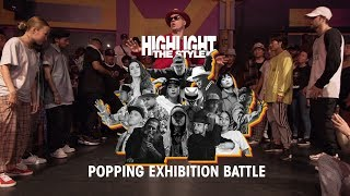 Popping – HIGHLIGHT THE STYLE Exhibition Battle