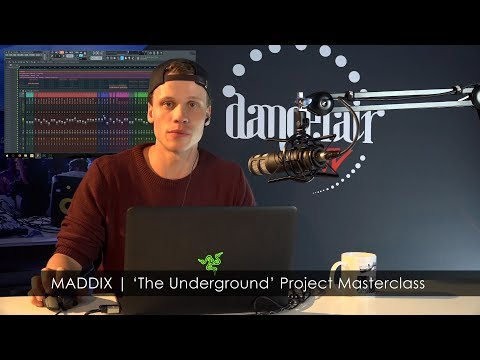 MADDIX | 'The Underground' FL Studio Project Masterclass