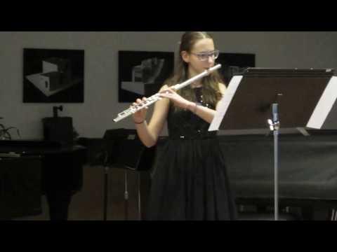 J. Mouquet: La Flute de Pan - 1. věta (видео)