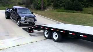 Poradnik JAK nie ładować Forda F-350 na lawetę