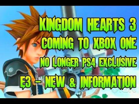 kingdom hearts iii xbox one gameplay