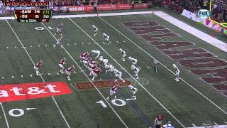 Lane Johnson vs Texas A&M (Cotton Bowl)