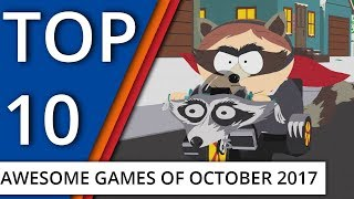 Top 10: Awesome Game Releases of October 2017