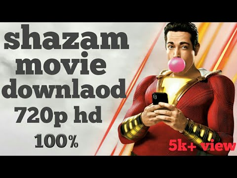 How to download shazam movie hindi in hd 720p bluray |Movies Track|