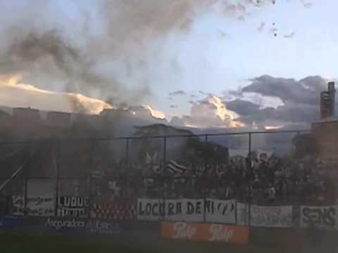 LA ESCOLTA LIBERTAD - entrada vs Sptvo. Luqueño (30NOV2014) - La Escolta - Libertad