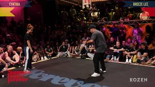 Cintia vs Breeze Lee – Summer Dance Forever 2018 Popping Forever 2ND ROUND