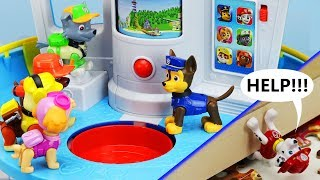 Video MARSHALL'S IN TROUBLE! Paw Patrol My Size Lookout Tower, Rescue Mission & Puzzle Toy Learning Video MP3, 3GP, MP4, WEBM, AVI, FLV Juli 2019