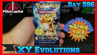 Pokemon Pack Daily XY Evolutions Booster Opening Day 596 - Featuring ThePokeCapital by ThePokeCapital