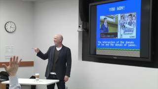 Video Game Law Jan 23, 2013 Ian Verchere's Talk: