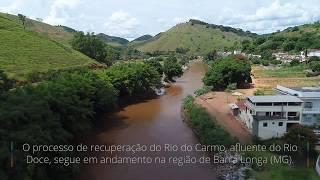 Sobrevoo – Rio do Carmo em Barra Longa (MG)