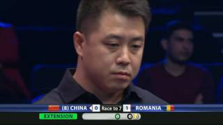 China vs Romania | Round 1 | Full HD | 2015 World Cup of Pool