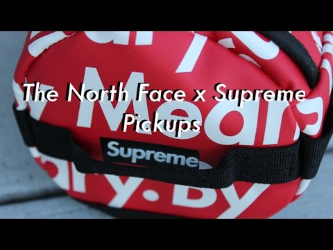 The North Face x Supreme FW 2015 Collab Pickups