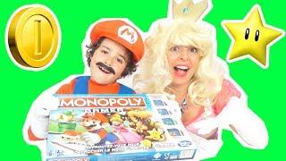 Video JEU - MONOPOLY GAMER - SUPER MARIO Vs PRINCESSE PEACH : QUI GAGNERA ? - JEU DE SOCIÉTÉ EN FAMILLE MP3, 3GP, MP4, WEBM, AVI, FLV November 2017