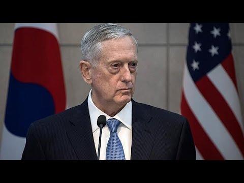 Ν.Κορέα: Προειδοποίηση Μάτις στην Βόρειο Κορέα για τα πυρηνικά