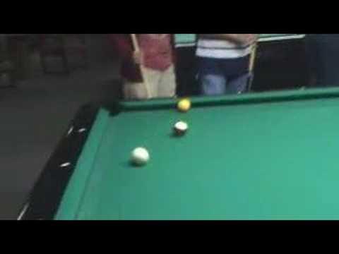 Funny Shots..Playing pool (Billards)