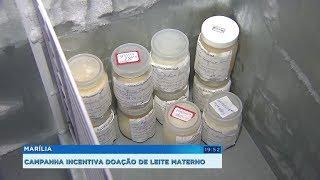 Marília: Banco de Leite Humano faz campanha sobre a importância da doação