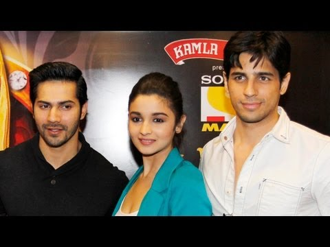 Alia, Varun, Siddharth Announce Stardust Awards