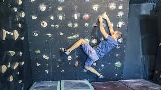 EpicTV Lunchtime Climbing Session by Matt Groom