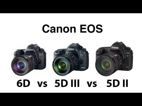 Canon Full Frame Shootout! Canon 6D vs Canon 5D Mark III vs Canon 5D ...