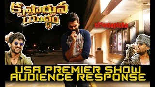 Video Krishnarjuna Yuddham USA Premier Show Audience Response MP3, 3GP, MP4, WEBM, AVI, FLV April 2018