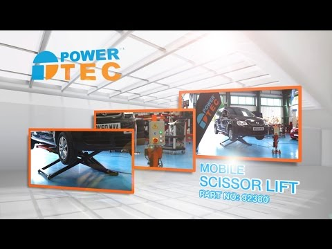 Power-TEC Mobile Scissor Lift