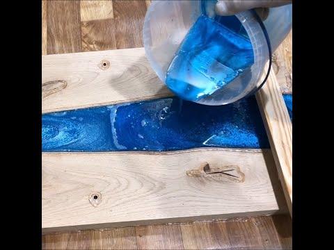 Come costruire un tavolo con legno e RESINA EPOSSIDICA