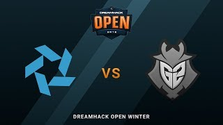 Bravado vs G2 Esports - Nuke - DreamHack Open Winter 2018