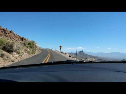 Route 66 / Arizona Scenic Mountain Pass (видео)