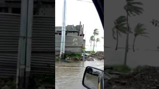 Colon Panama  city photos : Calle primera - Colon - Panamá - Tormenta Otto - Huracán